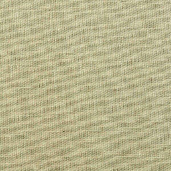 Cotton Linen Blends Yellow Plain Fabric