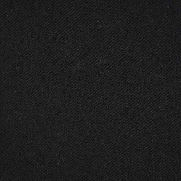 Black Color Drill Cotton Fabric
