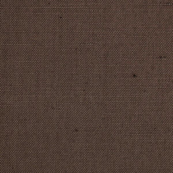 Cotton Linen Brown Color Dyed Fabric
