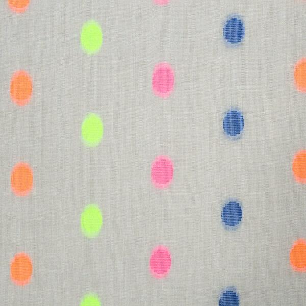 Cotton Polyester Multi Color Butta Fabric