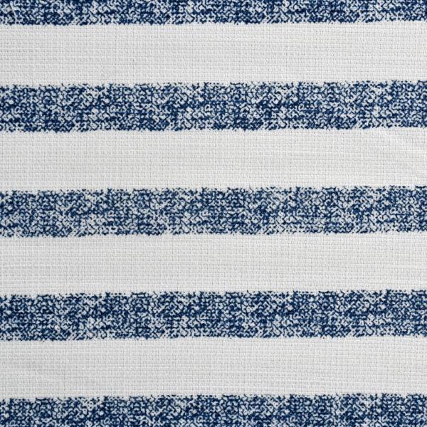 Weft Stripe Print Cotton Fabric