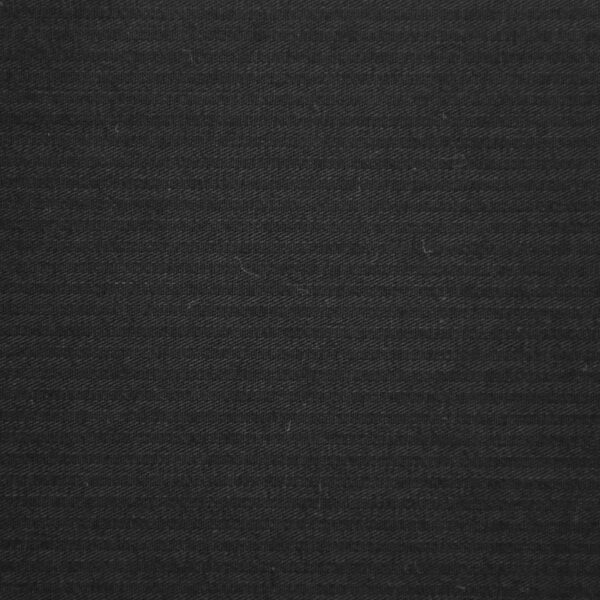 Reverse Twill Cotton Black Color Dyed Fabric