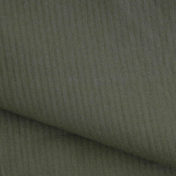 Cotton Olive Color Solid Fabric