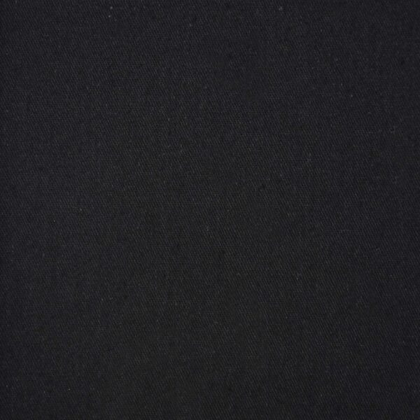 Black Color Dyed Cotton Twill Fabric