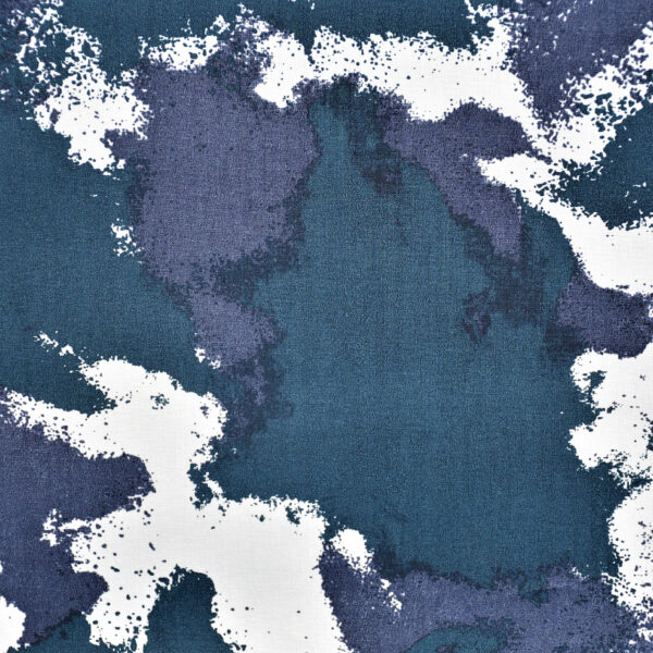Blue Base Print Cotton Fabric