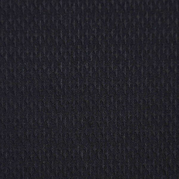 Cotton Black Solid Dobby Fabric