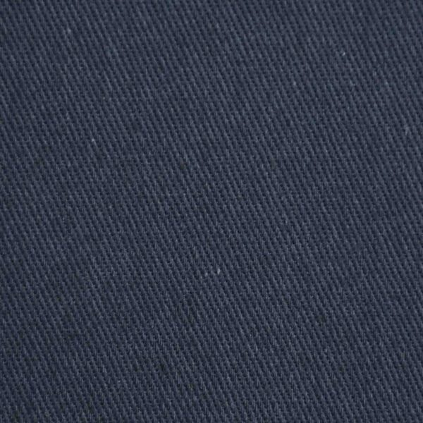Cotton Drill Navy Blue Solid Fabric