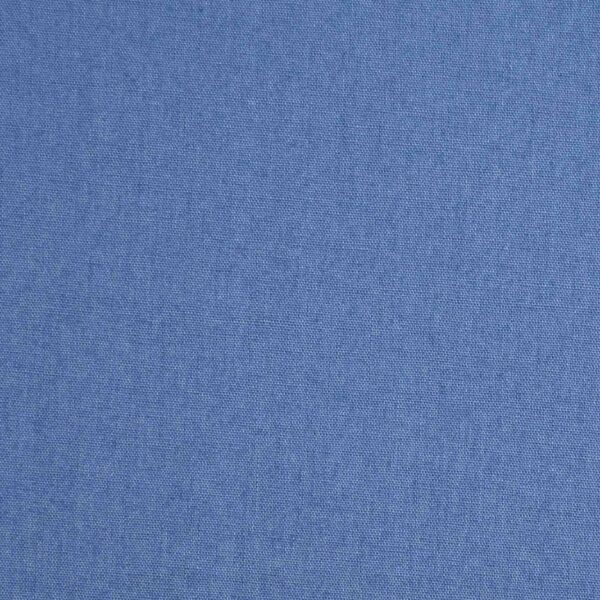 Blue Color Dyed Plain Cotton Fabric