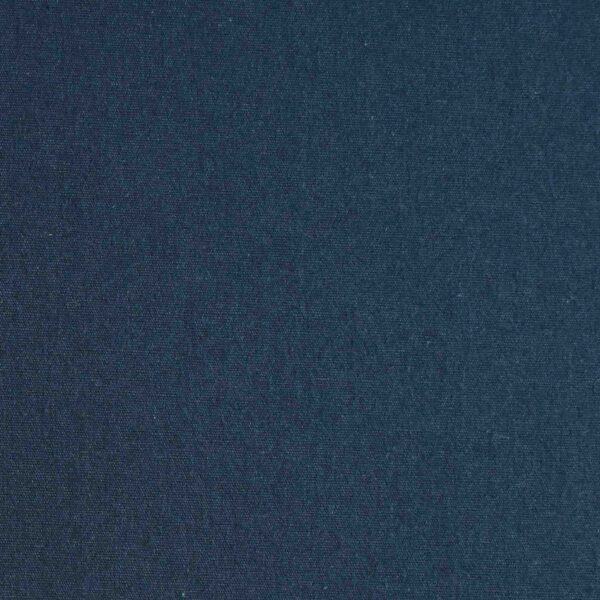 Blue Solid Brushed Cotton Fabric