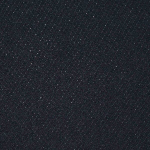 Black Solid Cotton Dobby Fabric