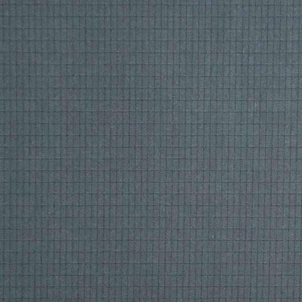 Cotton Dark Blue Pigment Padded Fabric