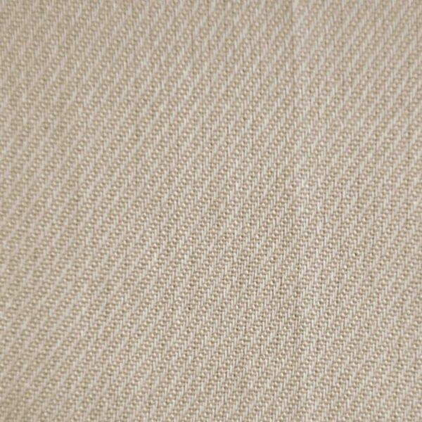 Cotton Blends Light Cream Dyed Fabric