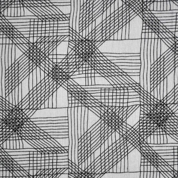 Cotton Poly Geometrical Print Woven Fabric