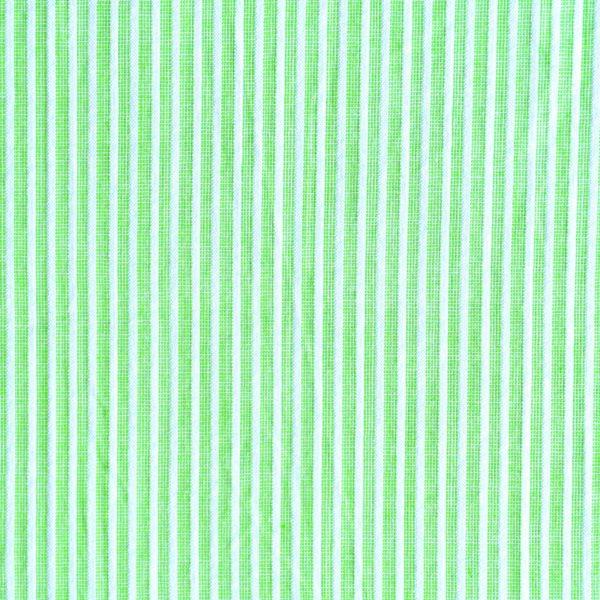 Green & White Yarn Dyed Fabric