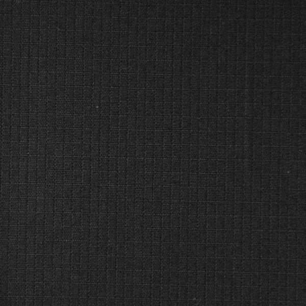 Black Color Solid Cotton RibStop Fabric