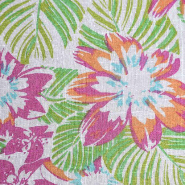 Cotton Multi Flower Print Fabric