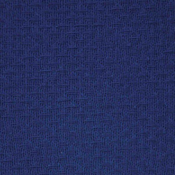 Cotton Blue Double Cloth Fabric