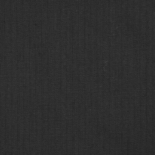 Reverse Twill Black Color Dyed Cotton Fabric