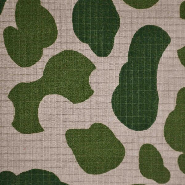 Cotton Camouflage Print Woven Fabric