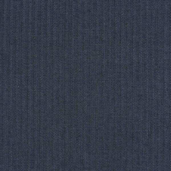 Reverse Twill Navy Blue Dyed Cotton Fabric