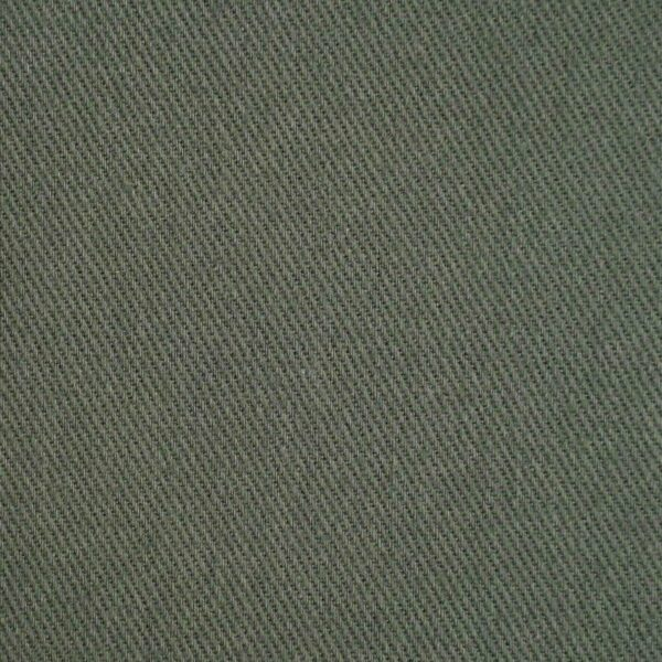 Dark Olive Color Cotton Brushed Fabric
