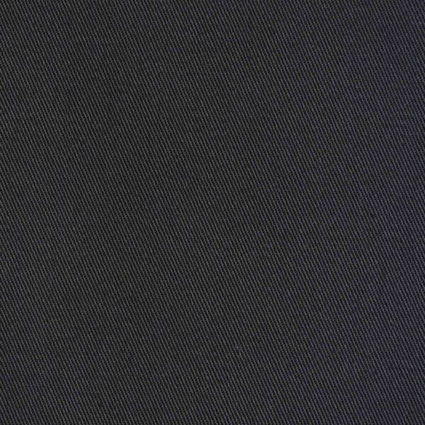 Cotton Black Color Drill Dyed Fabric