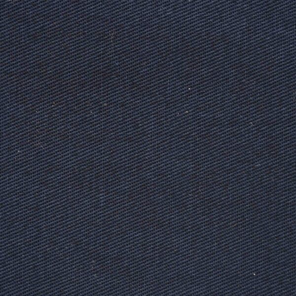 Drill Cotton Navy Blue Color Solid Fabric