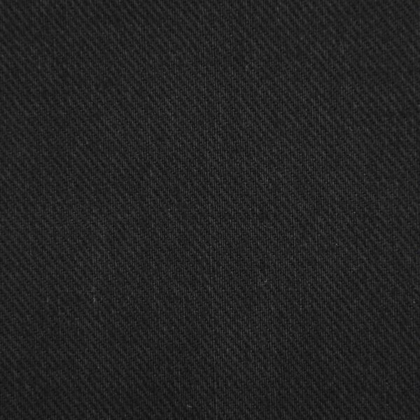 Black Color Cotton Drill Dyed Fabric
