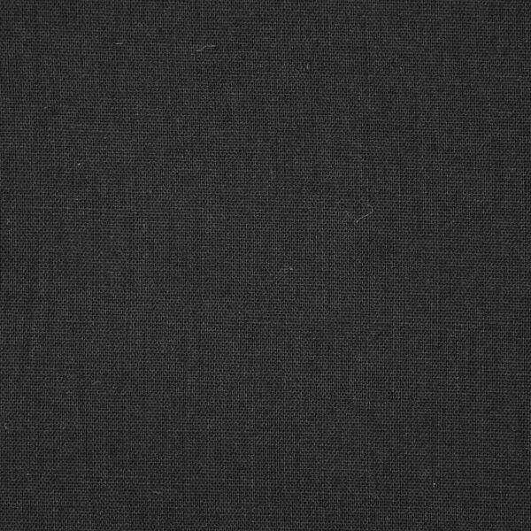 Black Color Solid Plain Cotton Fabric