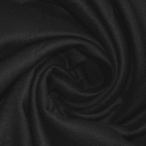 Black Color Dyed Cotton Plain Fabric