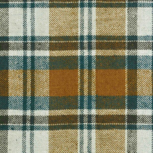 Cotton Hemp Checked Yarn Dyed Fabric