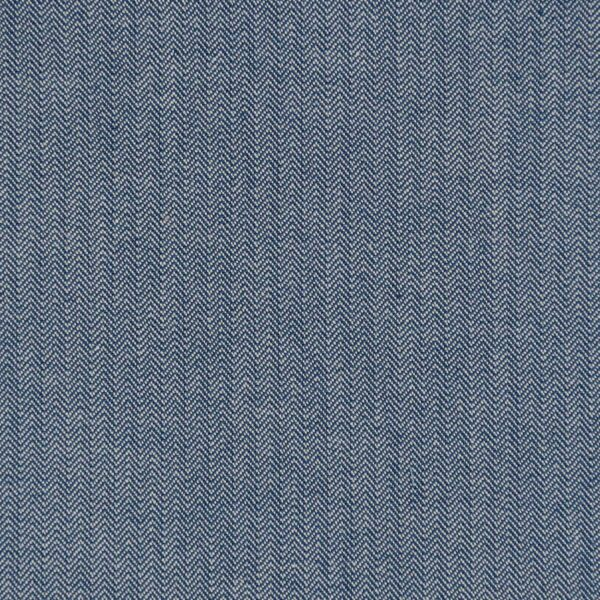 Cotton Yarn Dyed Blue Woven Fabric