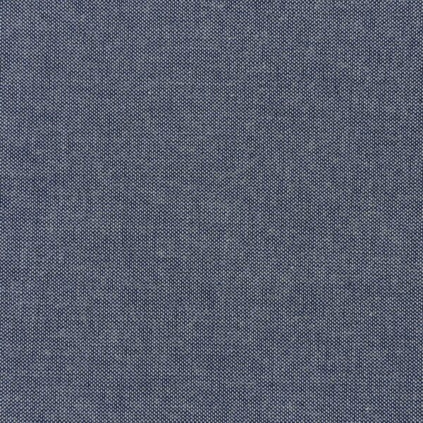 Cotton Blue Color Yarn Dyed Woven Fabric