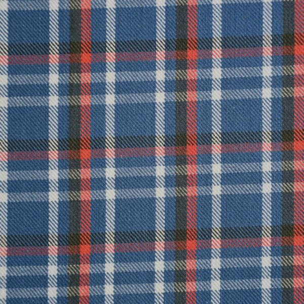 Multi Color Checked Yarn Dyed Cotton Fabric