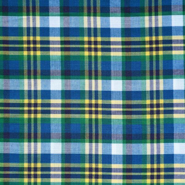 Multi Color Yarn Dyed Checked Fabric