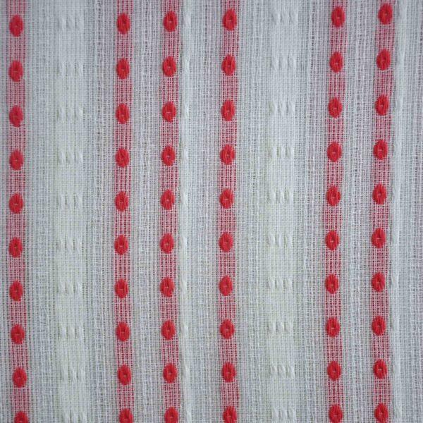 Cotton Light Pink Double Cloth Yarndyed Fabric