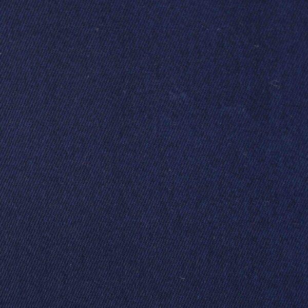 Cotton Dark Navy Dyed Woven Fabric