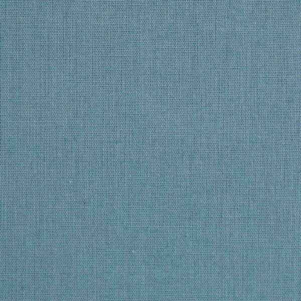 Cotton Poly Light Blue Dyed Woven Fabric