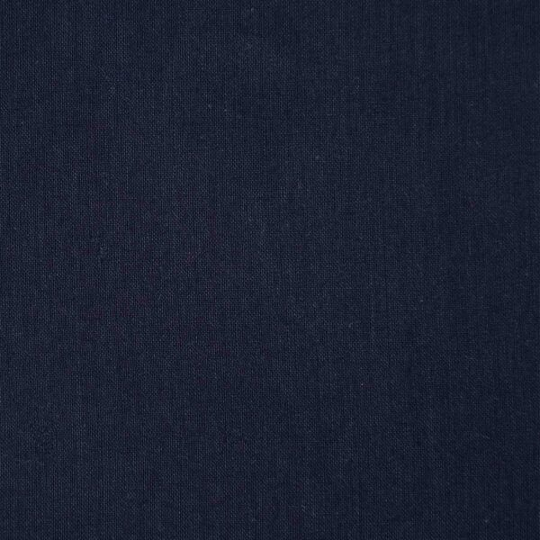 Cotton Modal Navy Dyed Woven Fabric