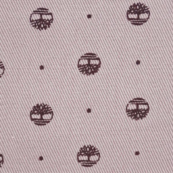Cotton Grey Color Circle Print Fabric