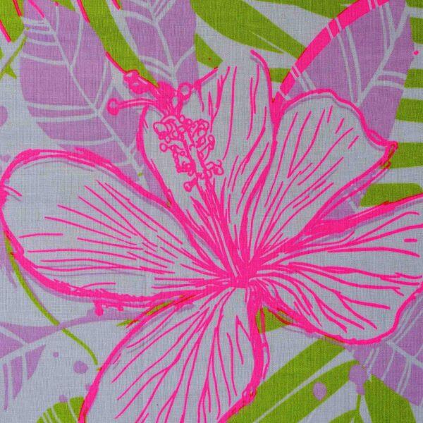 Cotton Modal Flower Print Fabric