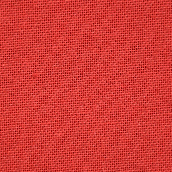 Cotton Light Red Dyed Oxford Fabric