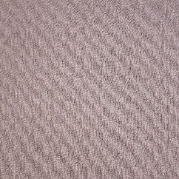 Cotton Light Rose Double Cloth Dyed Fabric