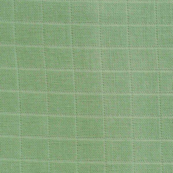 Cotton Light Green Double Cloth Fabric