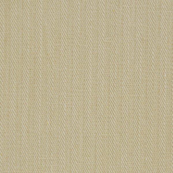 Cotton Cream Color Reverse Twill Fabric
