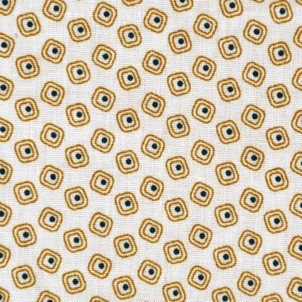 Cotton Small Box Print Fabric