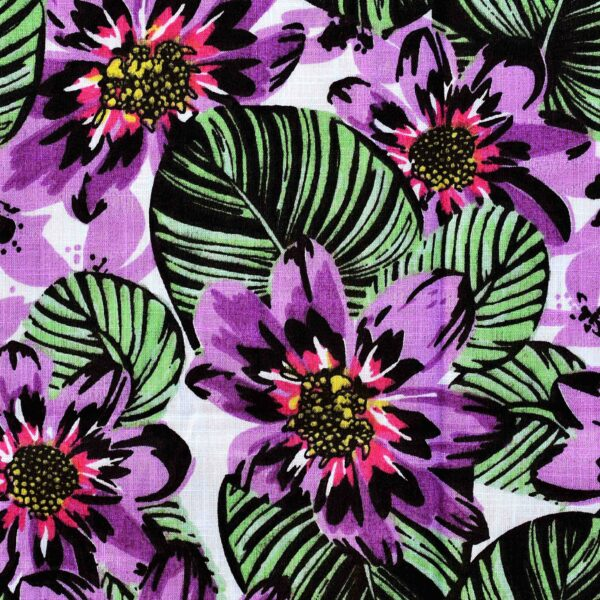 Cotton All Over Flower Print Fabric