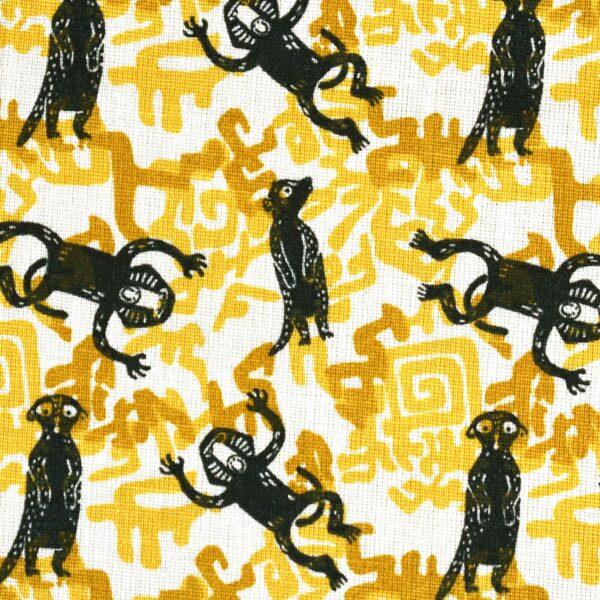 Cotton Linen Animal Print Fabric