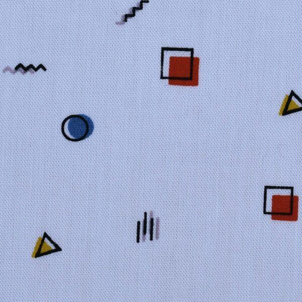 Cotton Geometrical Print Fabric