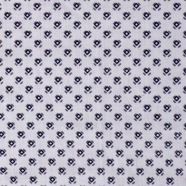 Cotton Modal Box Print Fabric